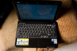 Dual core netbook MSI U100 (case in good condition)