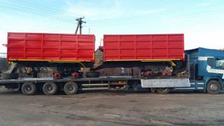 Продається напівпричіп тракторний 1ПТС-9