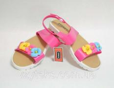 Sandals for girls, assorted, wholesale, Vzuteks