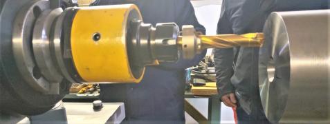 Станок ЧПУ обработка торца всех типов железнодорожных осей