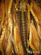 Sturgeon, hot smoked and cold-smoked