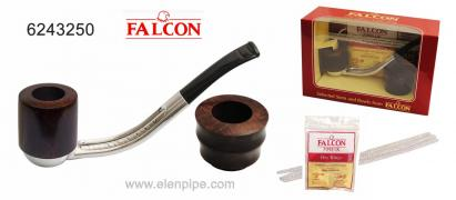 Трубки Фалкон Falcon англійські, верес, алюміній ЗНИЖКИ до 30 %