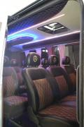 Tuning Internal Neoplan interior trim, minibus interior upholstery, fat repair