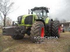 Twin tires for tractors and combines