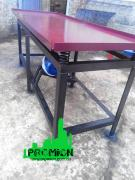 Vibrating table for eurofences and tiles